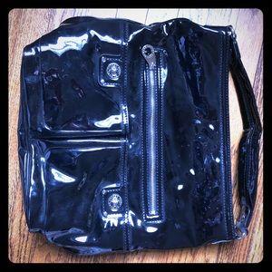 Nwt marc jacobs black patent handbag